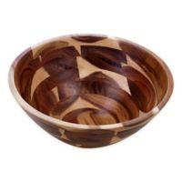 Certified International Acacia Wood Large Serving Bowl
