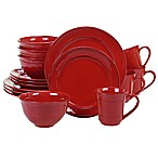 Certified International 16-Piece Orbit Dinnerware Set in Red