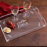 All Seasons Acrylic Serving Tray