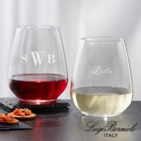 Luigi Bormioli® Stemless Wine Glass