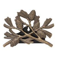 Whitehall Products Pinecone Outdoor Hose Holder in French Bronze