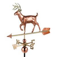 Good Directions White Tail Buck Weathervane in Pure Copper