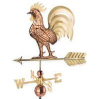Good Directions Proud Rooster Weathervane in Copper/Brass