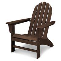 POLYWOOD® Vineyard Adirondack Chair in Mahogany