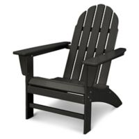 POLYWOOD® Vineyard Adirondack Chair in Black