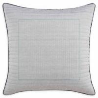 Original Penguin® Vaughn European Pillow Sham in Dark Grey