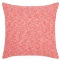 Original Penguin® Vaughn Knit Square Throw Pillow in Medium Red