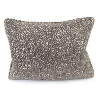 Jordan Manufacturing Cannon Decorative Oblong Pillow in Cobblestone