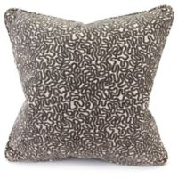 Jordan Manufacturing Cannon Decorative Square Pillow in Cobblestone