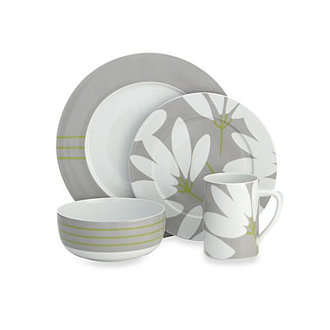 Echo Design™ Fan Floral 4-Piece Place Setting