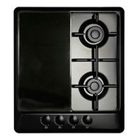 Range Kleen Rectangular Burner Covers in Black (Set of 2)