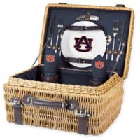 Auburn University Champion Picnic Basket with Service for 2 in Navy