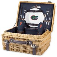 University of Florida Champion Picnic Basket with Service for 2 in Navy