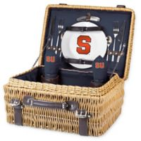 Syracuse University Champion Picnic Basket with Service for 2 in Navy