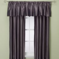 Argentina 108-Inch Rod Pocket Window Curtain Panel in Charcoal
