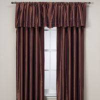 Argentina 95-Inch Rod Pocket Window Curtain Panel in Cognac