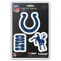 NFL Indianapolis Colts 3-Piece Car Emblem Kit