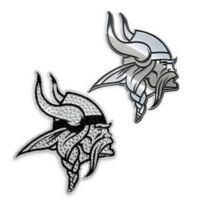 NFL Minnesota Vikings His & Hers 2-Piece Team Vehicle Emblem Set
