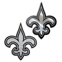NFL New Orleans Saints His & Hers 2-Piece Team Vehicle Emblem Set