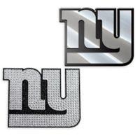 NFL New York Giants His & Hers 2-Piece Team Vehicle Emblem Set