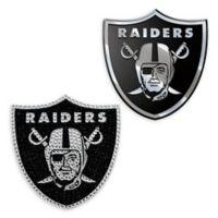 NFL Oakland Raiders His & Hers 2-Piece Team Vehicle Emblem Set