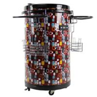 Equator Deco 70-Bottle Single Zone Party Cooler in Red
