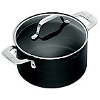 Emeril™ Essential Hard Anodized 5 qt. Covered Dutch Oven in Black