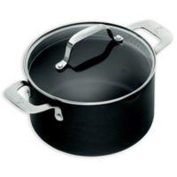 Emeril™ Essential Hard Anodized 5 qt. Covered Dutch Oven in Black