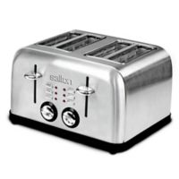 Salton 4-Slice Stainless Steel Electronic Toaster