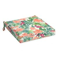 Arden Selections™ Luau Flamingo Outdoor Tropical Seat Cushion in Cream