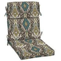 Selections By Arden Tenganan 44-Inch Outdoor Chair Cushion in Brown