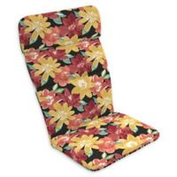 Arden Selections™ Ruby Abella Floral Outdoor Adirondack Chair Cushion in Black