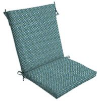 Arden Selections™ Alana Tile Clean Finish Outdoor Chair Cushion in Blue