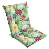 Arden Selections™ Outdoor Elea Tropical Clean Finish Chair Cushion in Blue