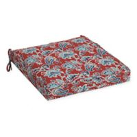 Arden Selections™ Caspian Floral Seat Cushion in Red