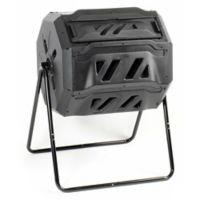 Koolscape 42-Gallon Tumbling Composter in Black