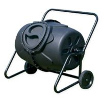Koolscape 50-Gallon Wheeled Tumbling Composter in Black