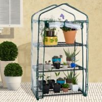 Pure Garden 3-Tier Portable Mini Greenhouse