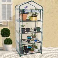 Pure Garden 4-Tier Portable Mini Greenhouse