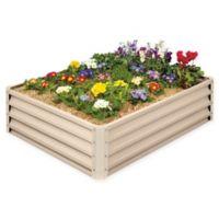 Stratco Raised Garden Bed in Beige