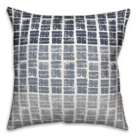 Designs Direct Swatches Square Outdoor Throw Pillow in Dusty Blue