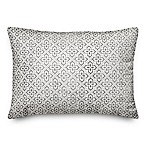 Designs Direct Faded Indoor/Outdoor Oblong Throw Pillow in Grey