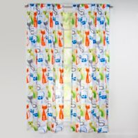 Learning Linens Smarty Cat 84-Inch Window Curtain Panel