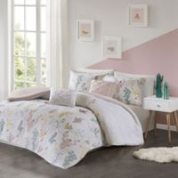 Urban Habitat Kids Desert Bloom 4-Piece Twin/Twin XL Cotton Printed Comforter Bedding Set