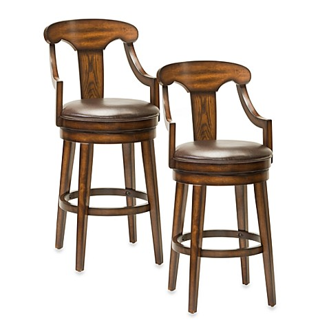 Hillsdale Upton Swivel Bar Stool And Counter Stool Bed