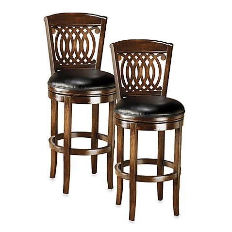 Hillsdale Vienna Swivel Counter Stool And Swivel Bar Stool