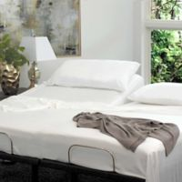 Cariloha® Resort Viscose made from Bamboo Split King Sheet Set in White