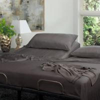 Cariloha® Resort Viscose Made from Babmoo Split King Sheet Set in Graphite