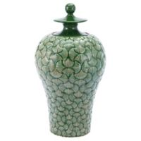 Zuo Modern Ventra Large Temple Jar in Green