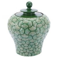 Zuo Modern Ventra Small Temple Jar in Green